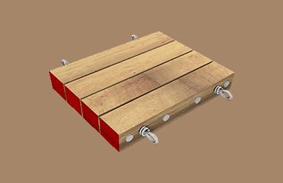 Yak Mat outrigger mat