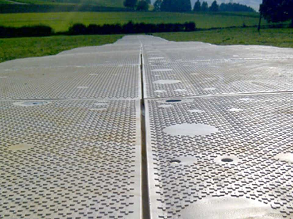 YAK MAT MegaDeck HD on jobsite